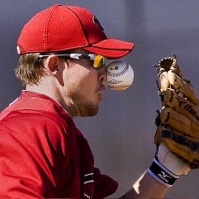 Baseball Player Takes A Ball To The Nose Giving Him That