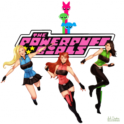 cartoon network s the powerpuff girls get a modern realistic