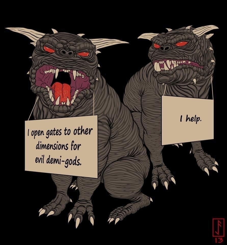 Ghostbusters Terror Dogs Shaming Meme