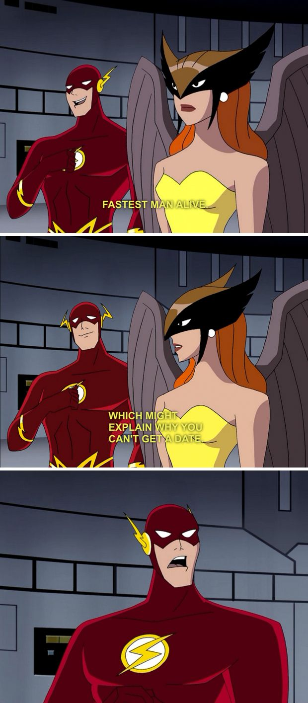 Flash fucks justice league