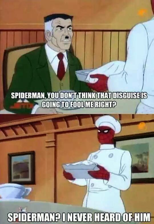 Spider man celebrity stick