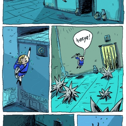 Link Hates The Zoras Water Temple In Legend Of Zelda Ocarina Of Time Gif Comic By Zac Gorman_408x408 link hates the zora's water temple in legend of zelda ocarina of,Water Temple Meme