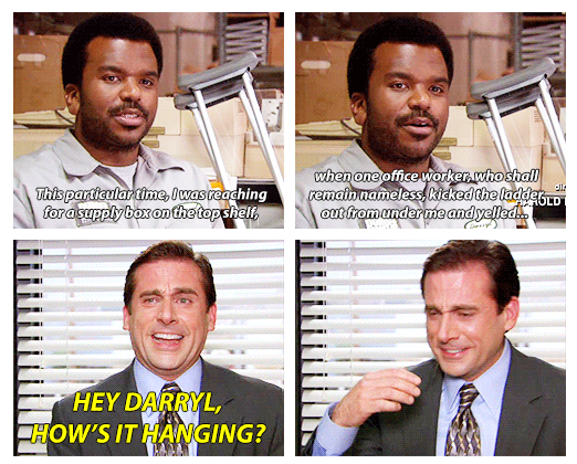 Michael Scott Takes Pranks Too Far With Darryl On The Office