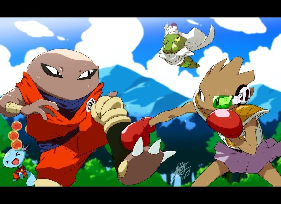 Pokemon As Dragon Ball Z Characters Would Make An Awesome Game