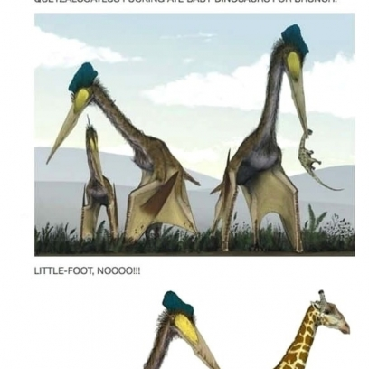 Quetzalcoatlus Dinosaurs Are So Metal Amp Scary In Tumblr Post