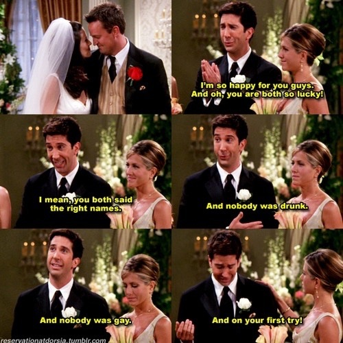 friends monica and chandler hook up Entire friends episode & monica is fat follower trying to hook up with him monica is fat & chandler chandler/monica friends.