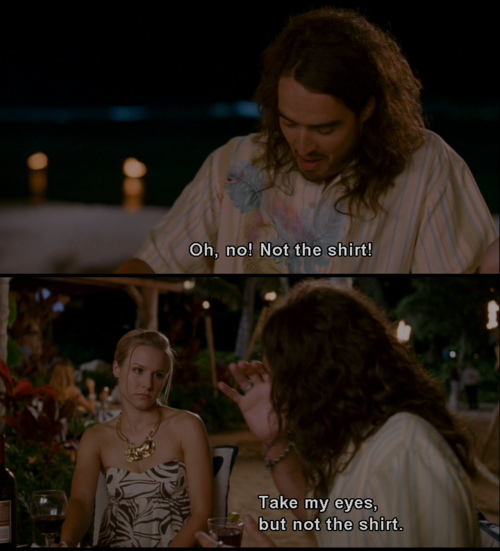 Doug Funny Quotes: Take My Eyes, But Not The Shirt Russell Brand Quote In