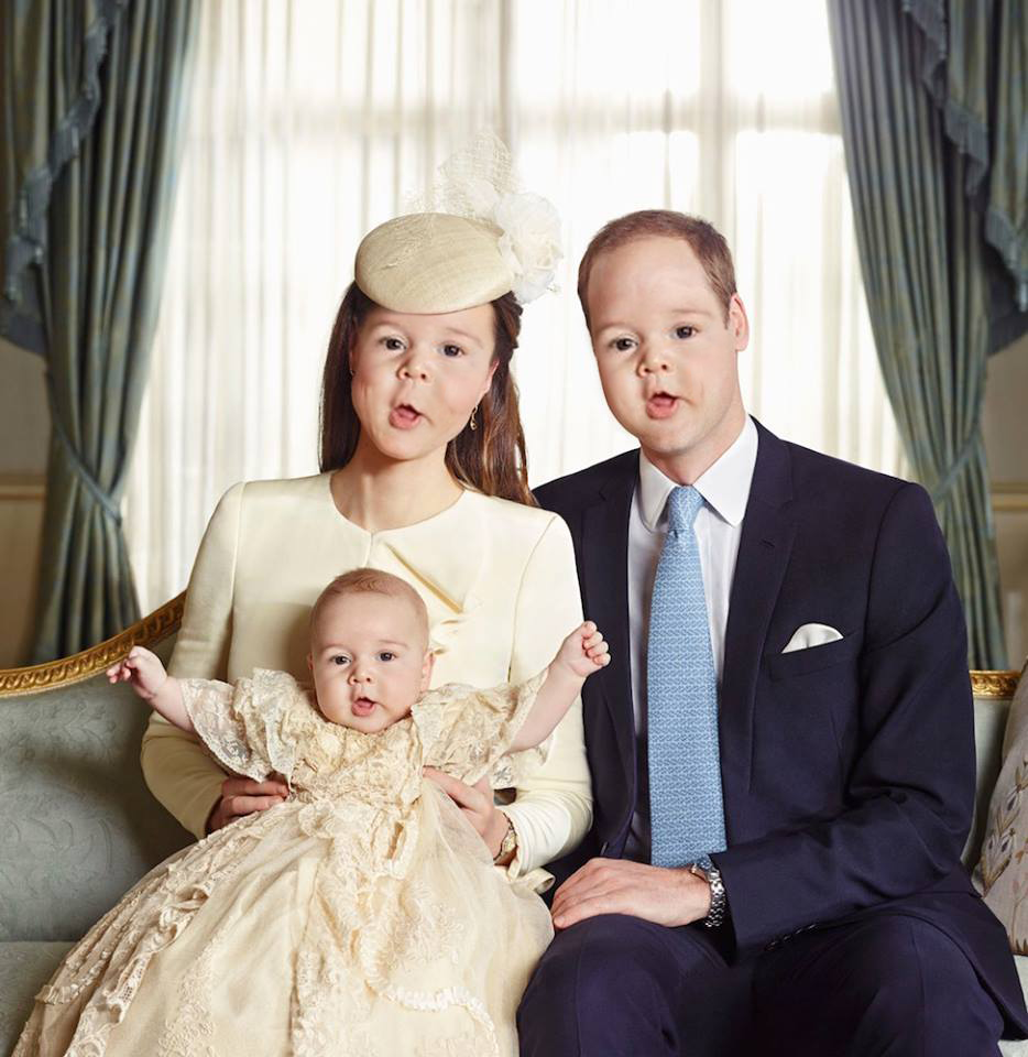 The Royal Family Baby Face Swamp Meme the royal family baby face swamp meme