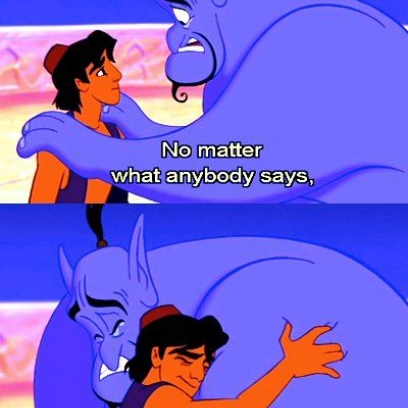 you�ll always be a prince to genie quote by robin williams