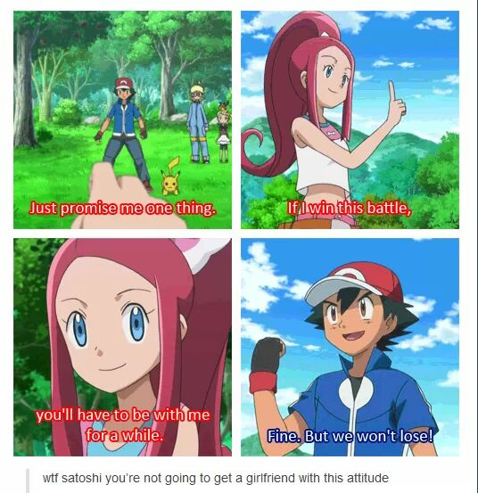 Ash Ketchum Will Never Get a Girlfriend With That Attitude ...