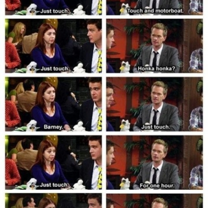 Barney Stinsons Beautiful Words When Seeing His Daughter For The