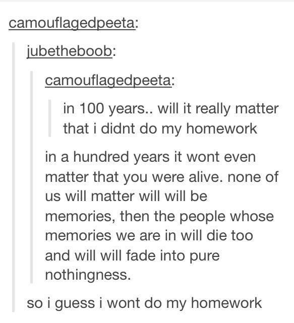 Motivate me to do my homework tumblr