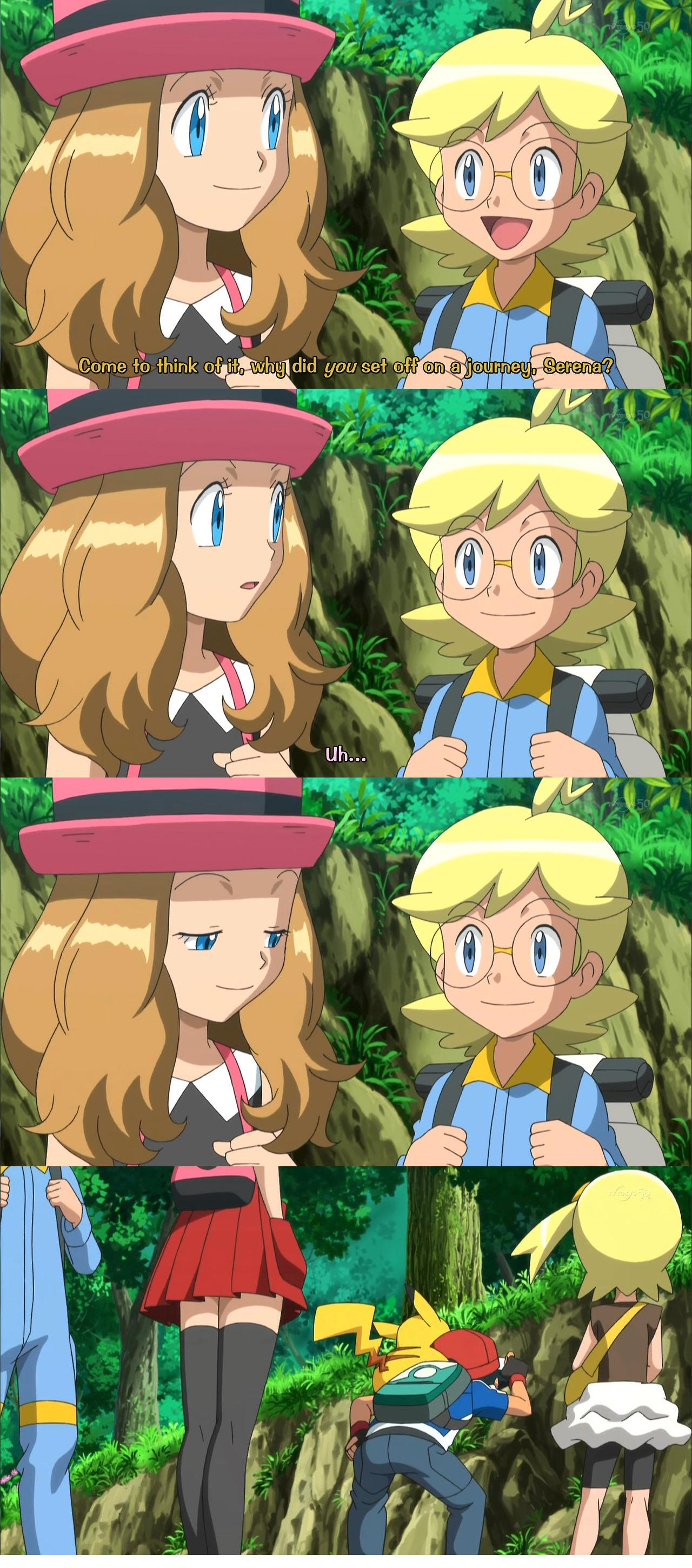 Serena Cant Stop Staring At Ashs Nice Features On Pokemon-6511